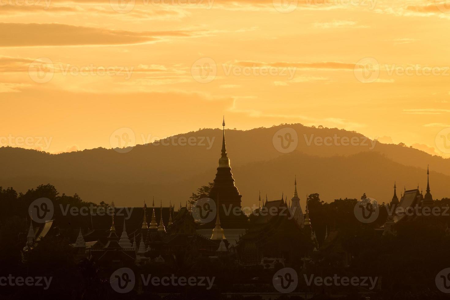 Wat Ban den Temple Maetang Chiangmai Thailand photo