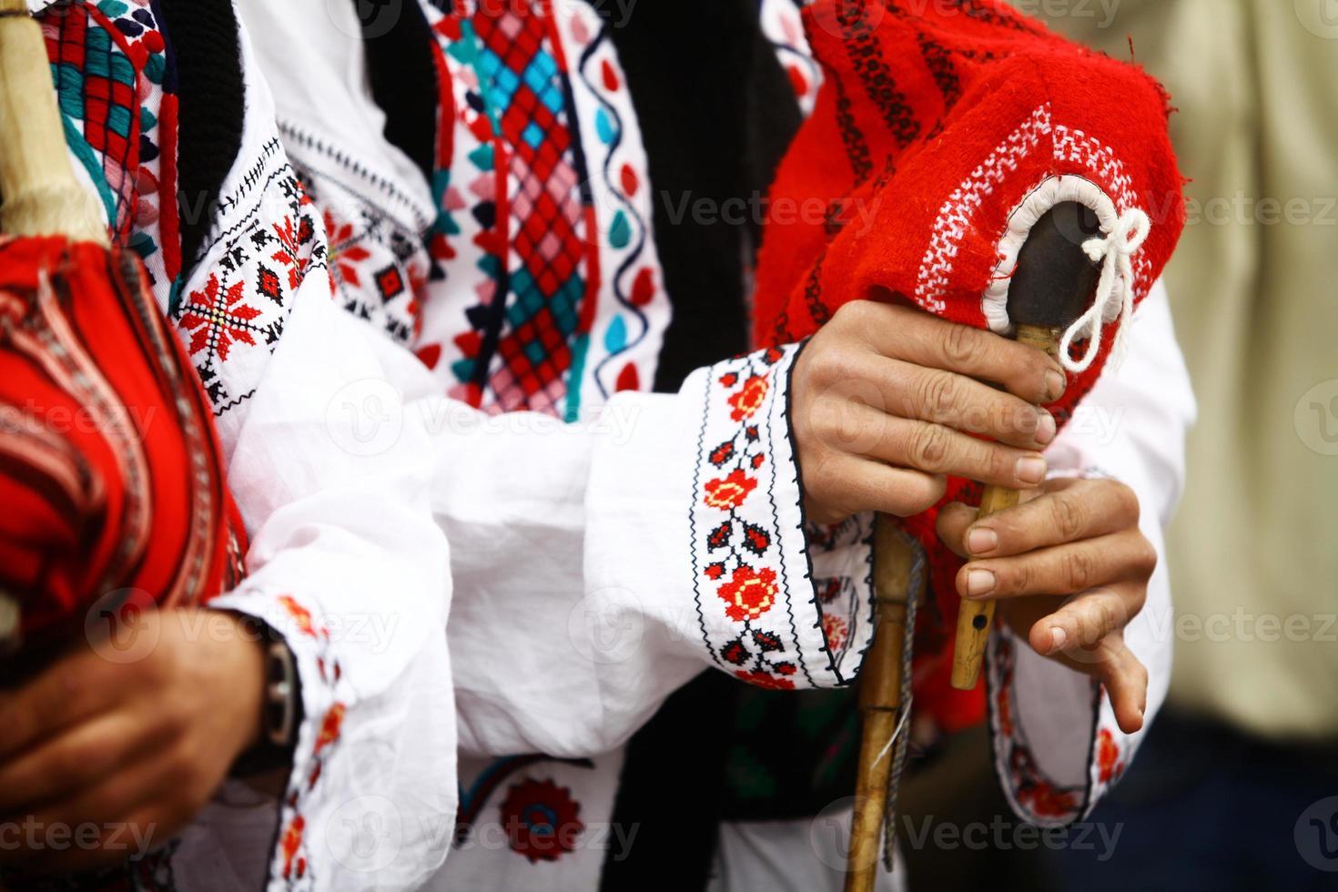 Romanian bagpipe photo
