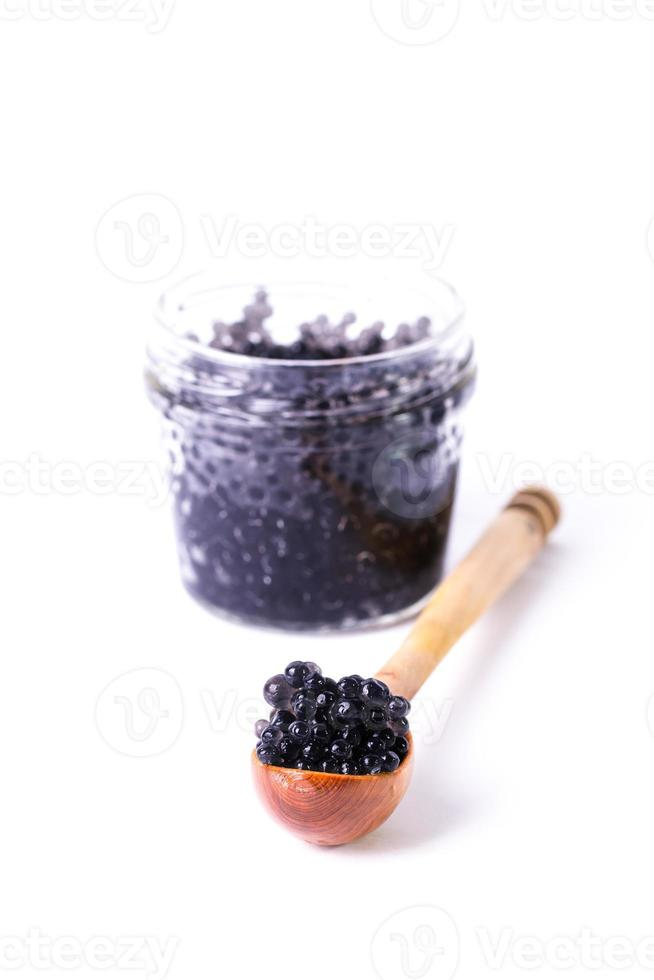 caviar in a spoon photo