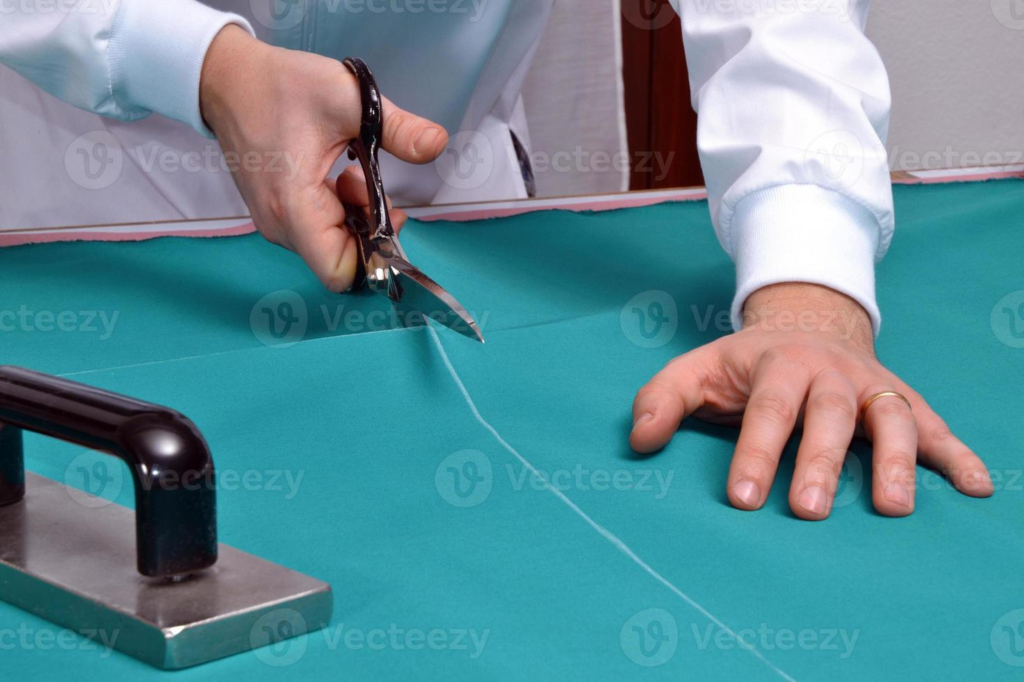 Tailor scissor. photo