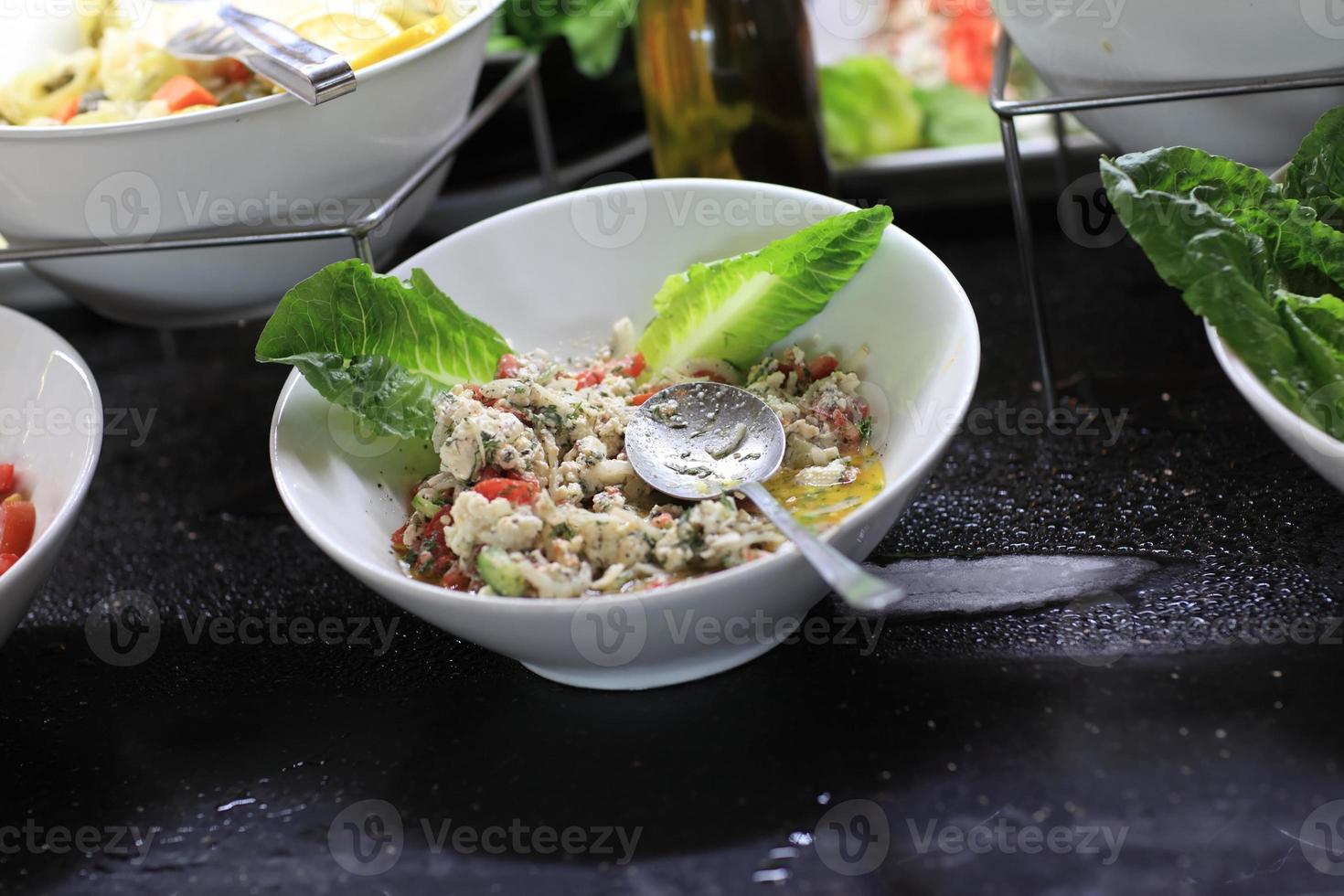 salade van bloemkool foto