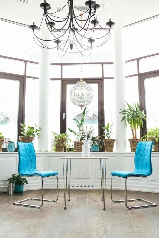 sillas de café conceptual foto