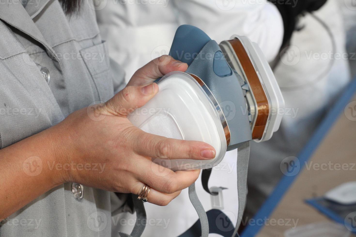 máscara de protección foto