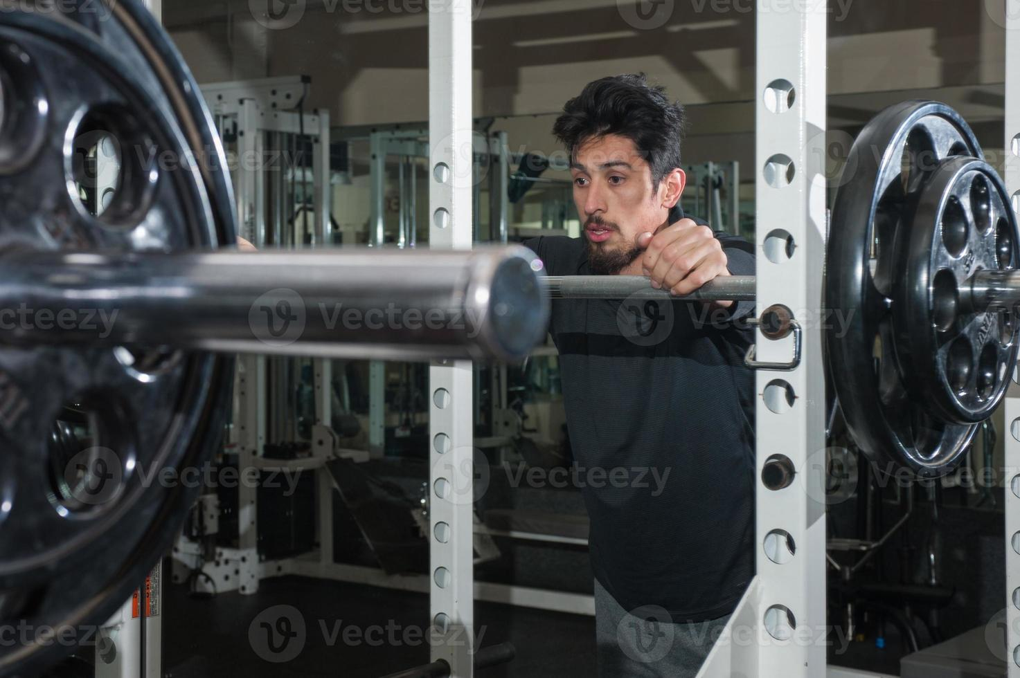 rust tussen sets squats foto