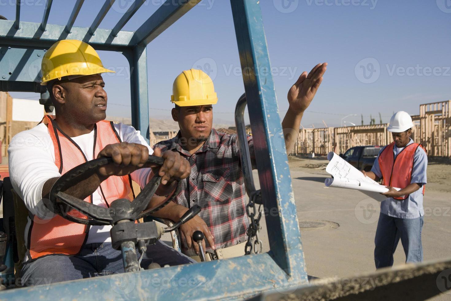 obra de construcción foto