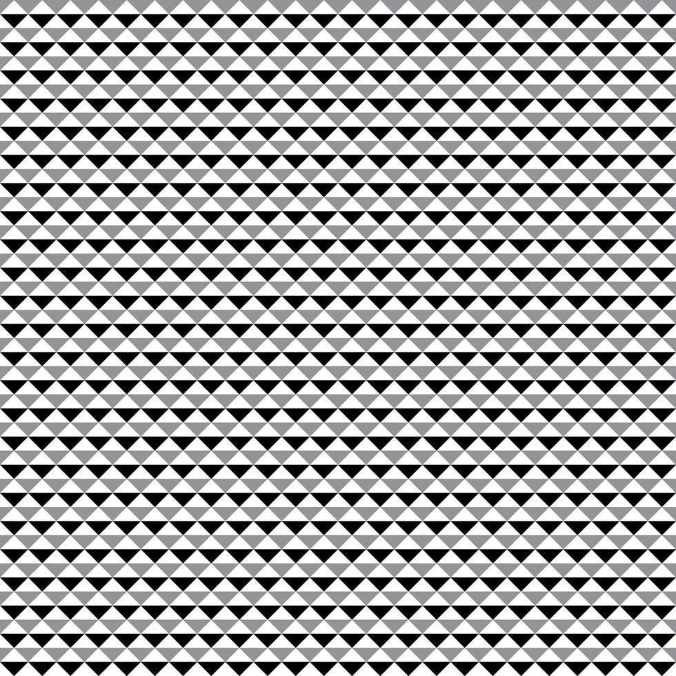motivo geometrico triangoli senza soluzione di continuità vettore