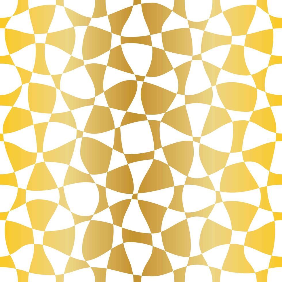 motif blanc or transparent vecteur