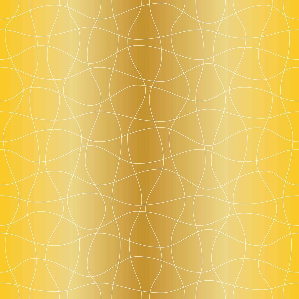 naadloze gouden golvenpatroon vector