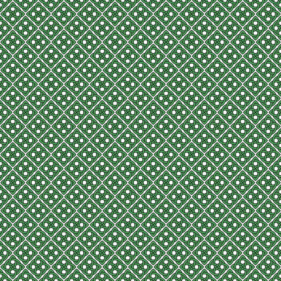 naadloze Keltische knooppatroon vector