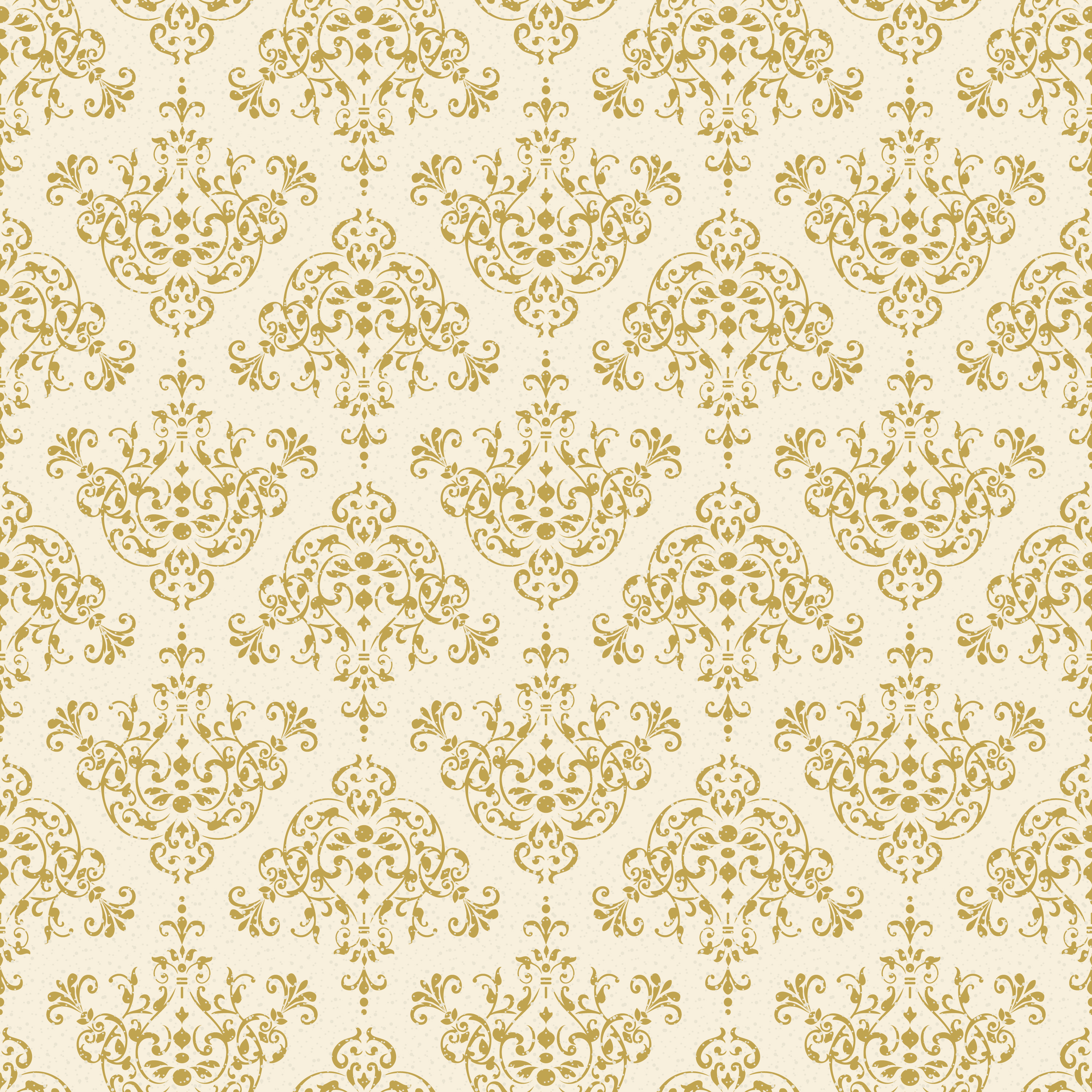 Seamless Gold Intricate Decorative Damask Pattern 1156224 Vector Art At Vecteezy