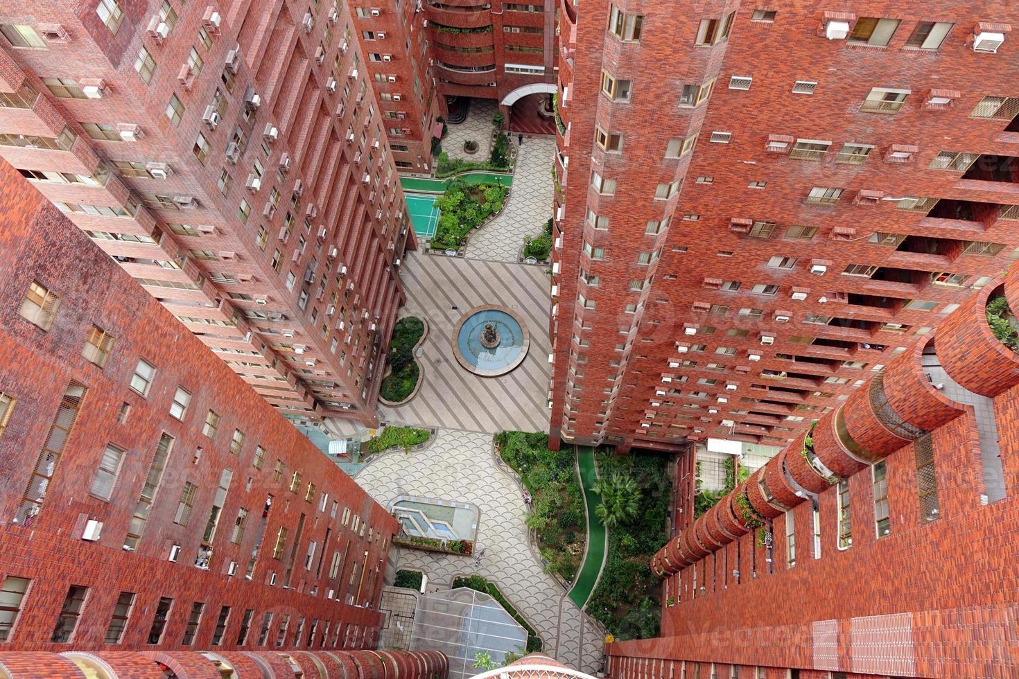 apartamentos residenciales de gran altura foto