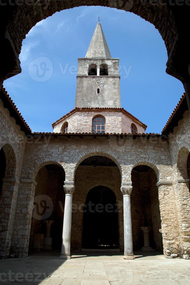 basílica eufrásica en porec foto