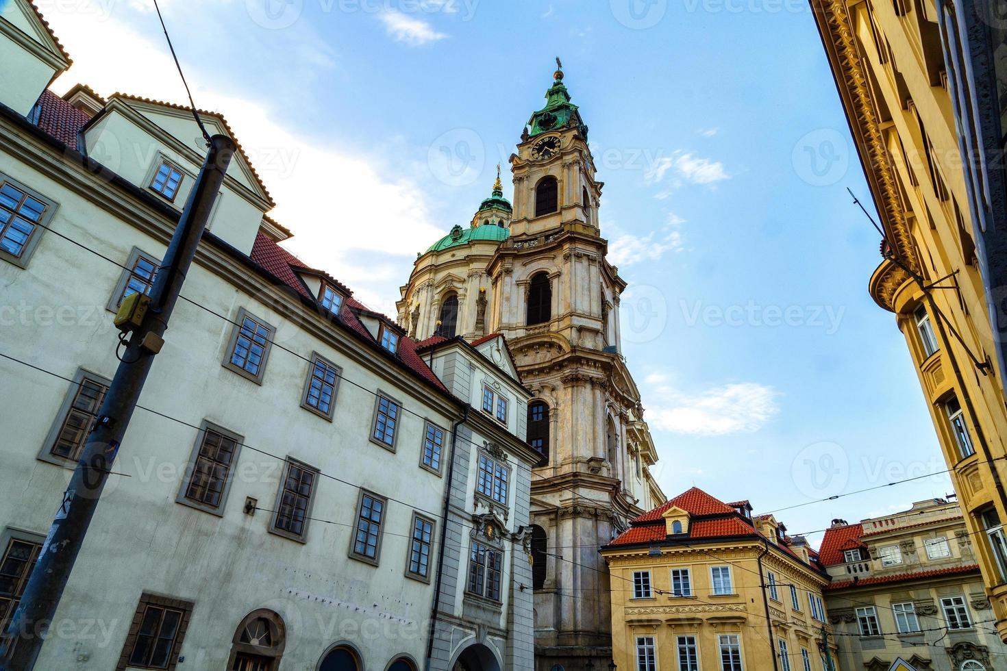 Iglesia de San Nicolás en Mala Strana foto