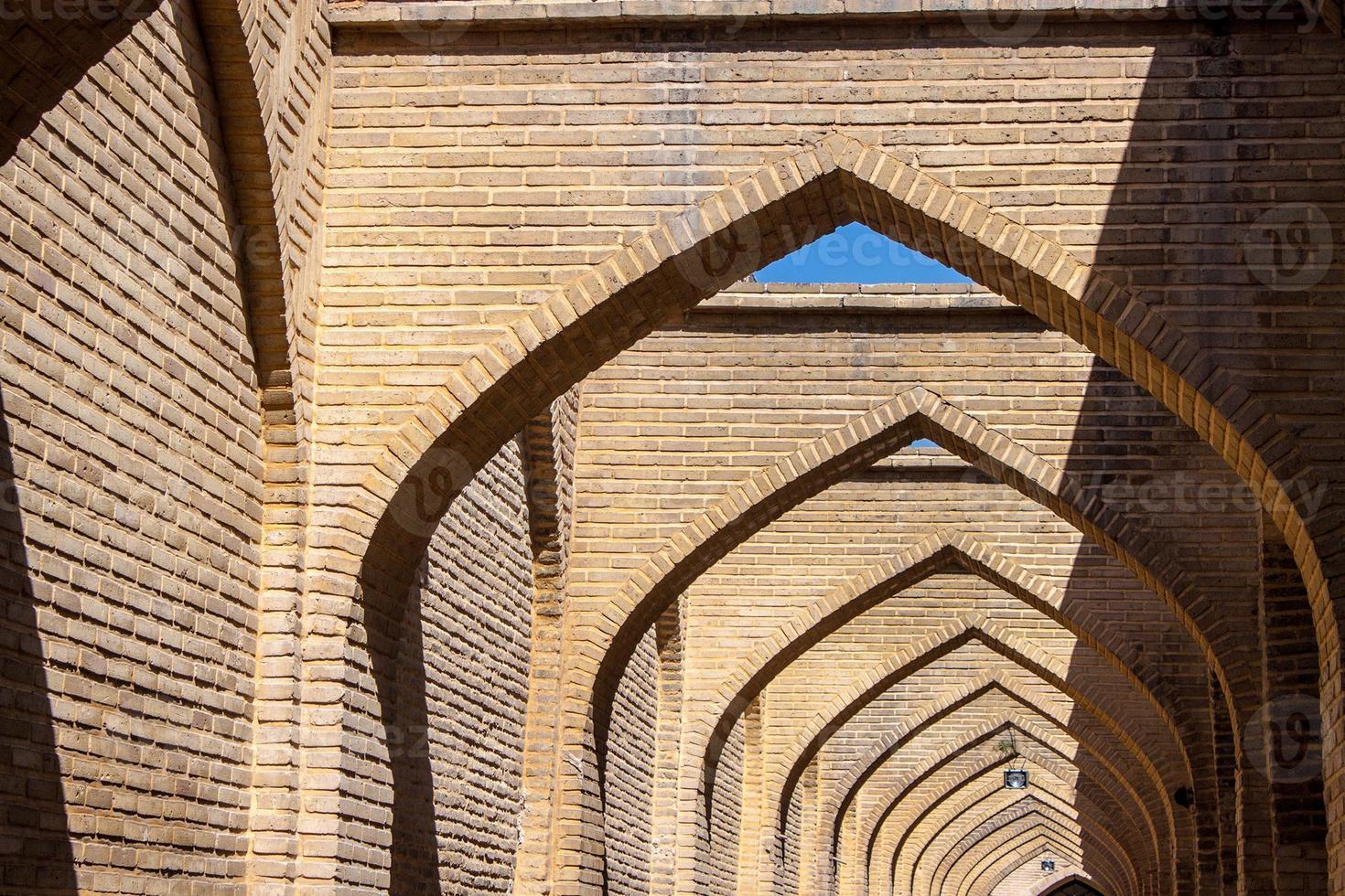 Arches in Shiraz photo