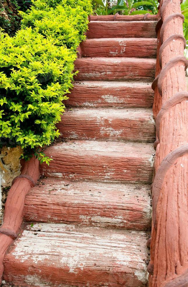 escalera de piedra foto