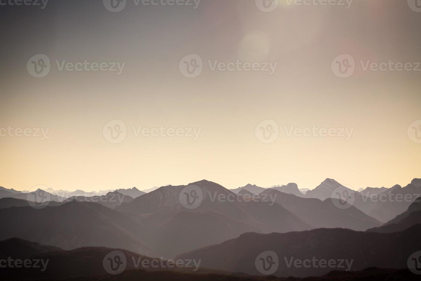 berglandschaft photo