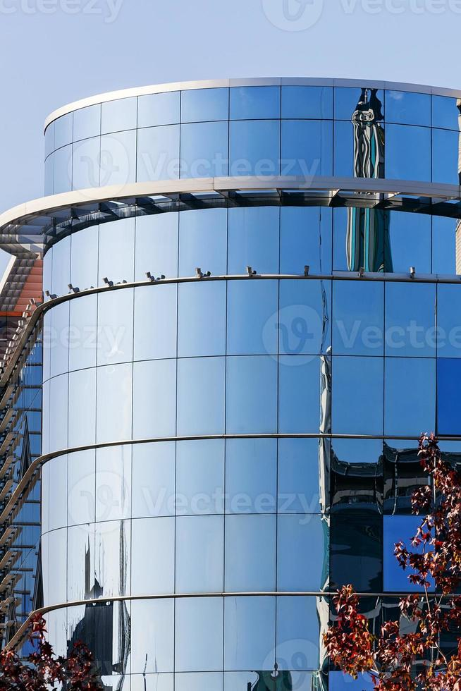 detalle moderno del edificio foto