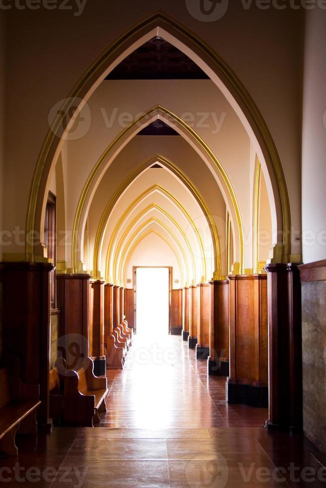 luz de la iglesia foto