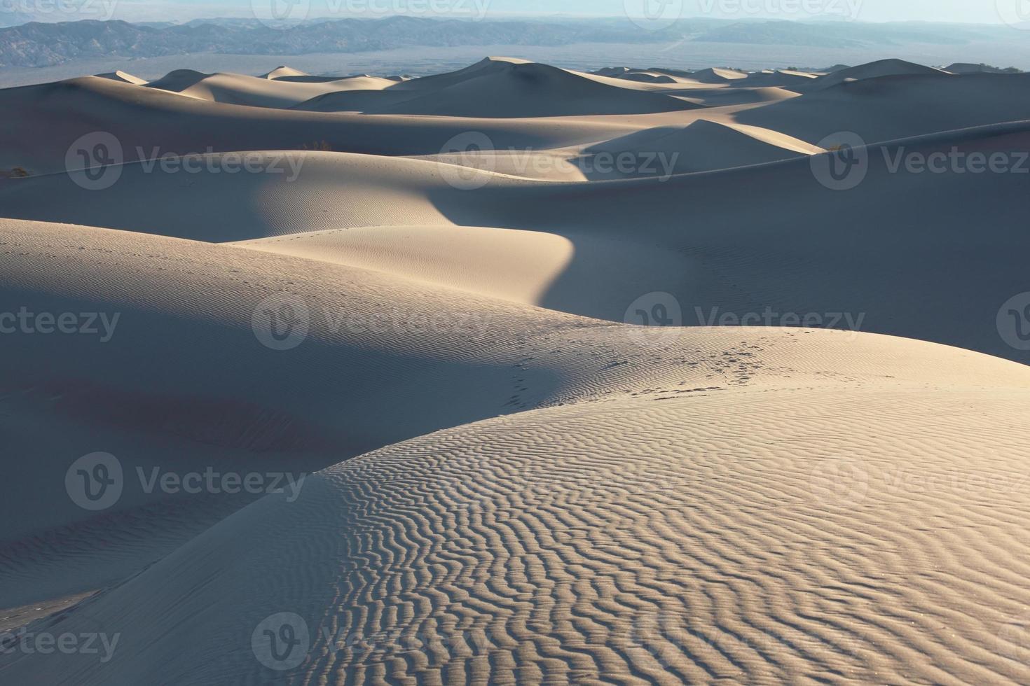 Sand dunes  in California photo