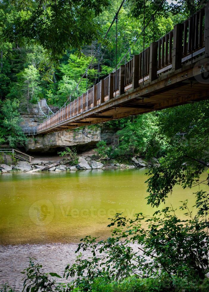 puente peatonal foto