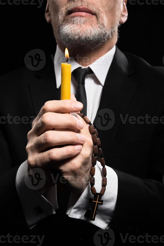 Concept for religion and prayer photo