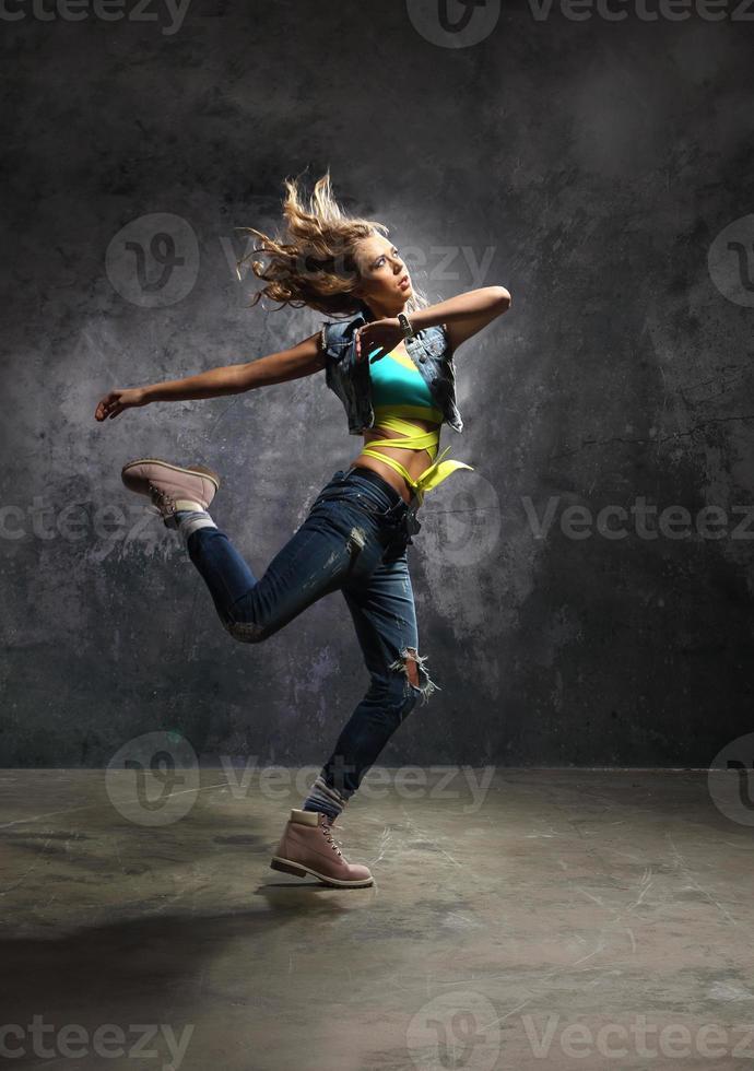 Graceful dancer photo