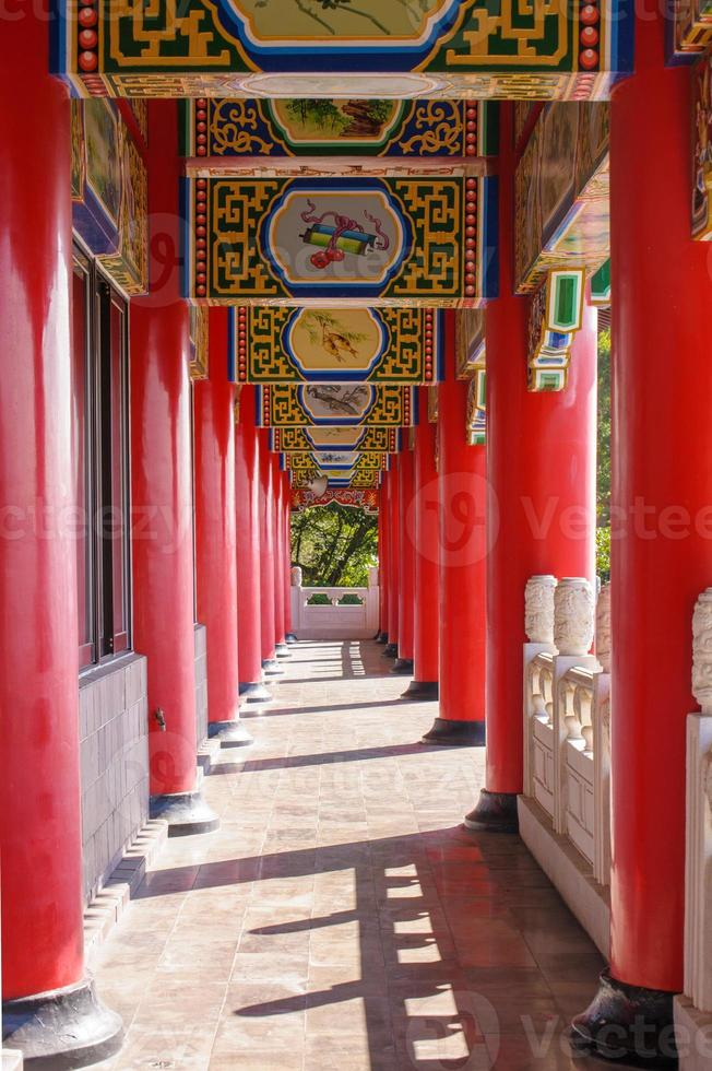pillars in temple photo