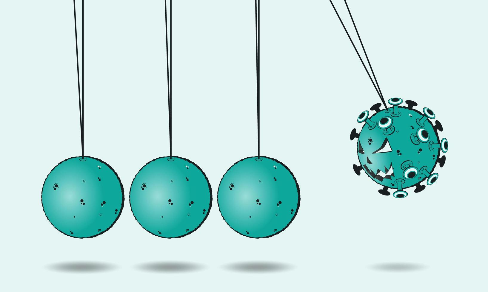 concepto de distanciamiento social vector