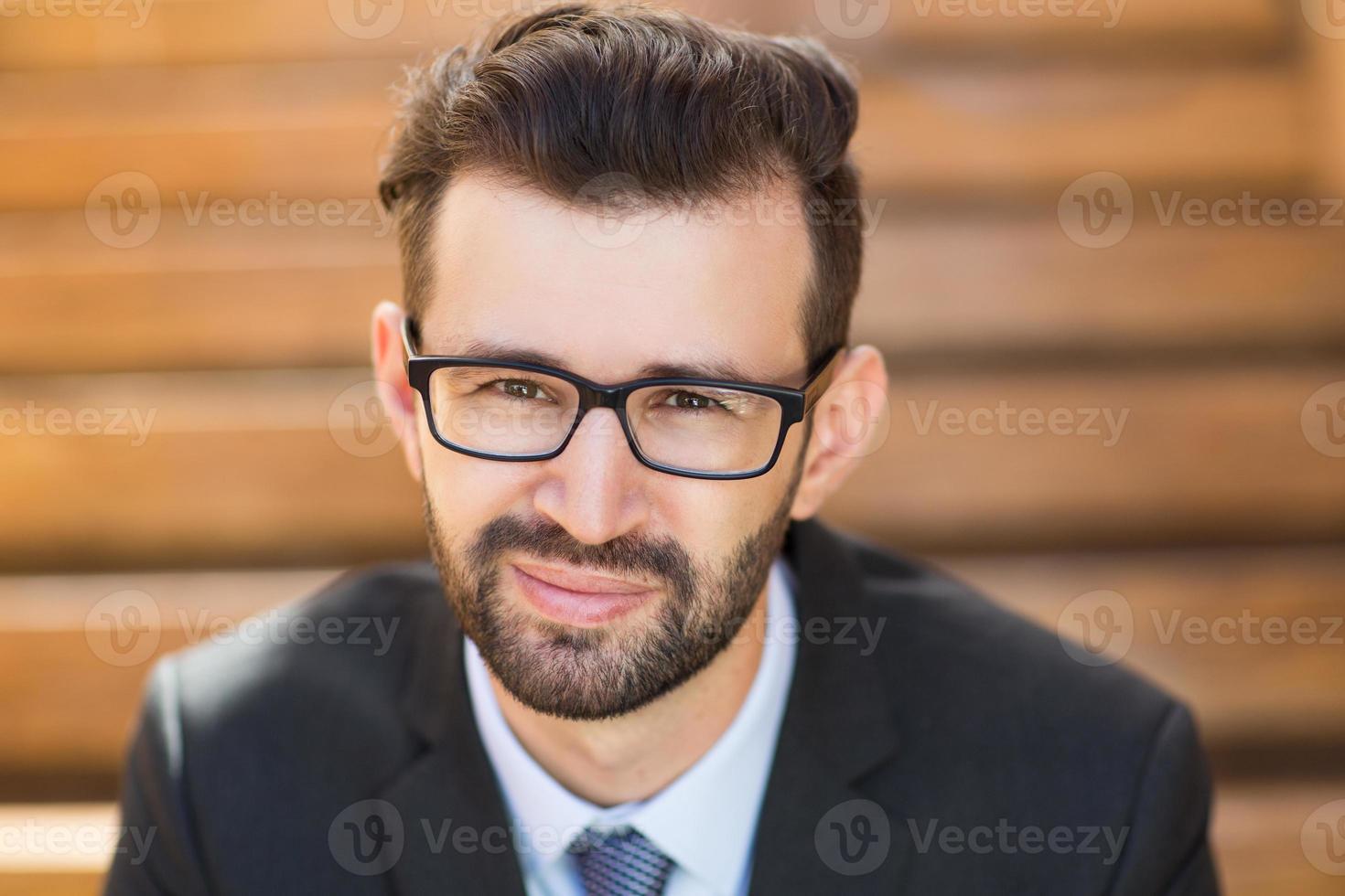 Portrait of Young Businessman photo