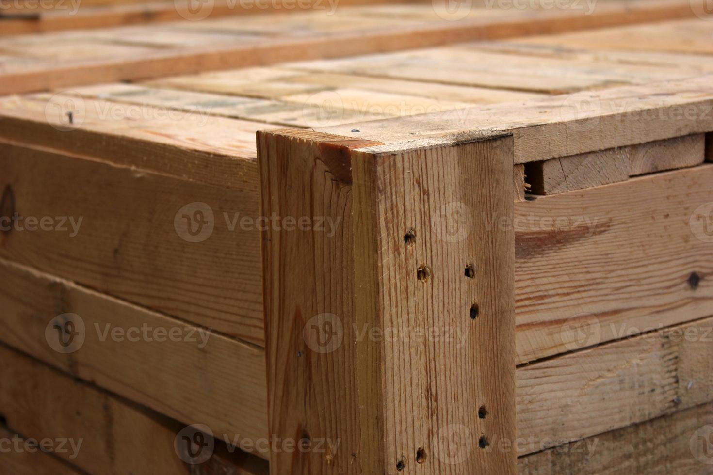 caja de madera foto