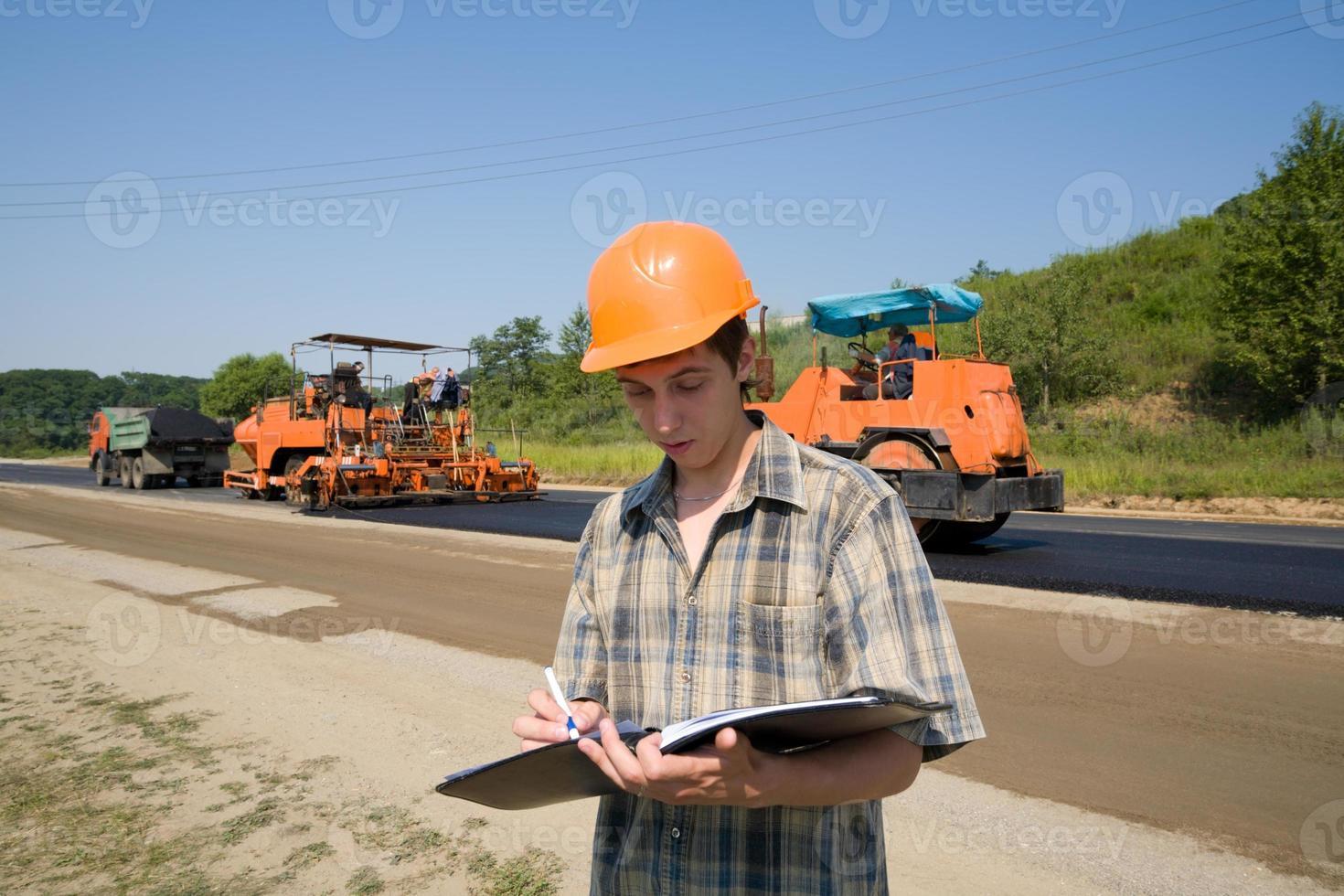inspector de carreteras foto