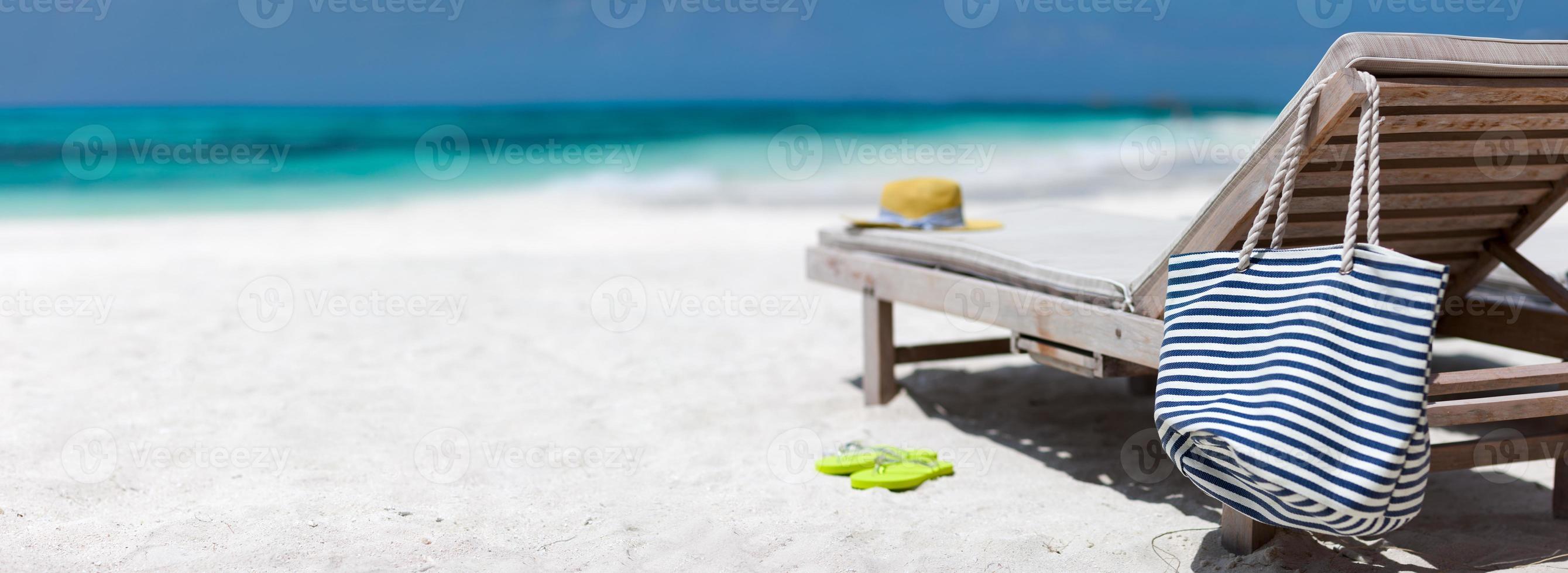 Tropical beach vacation photo