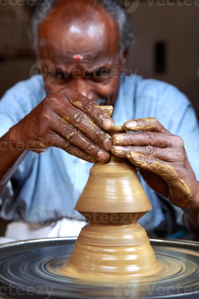 alfarero indio foto