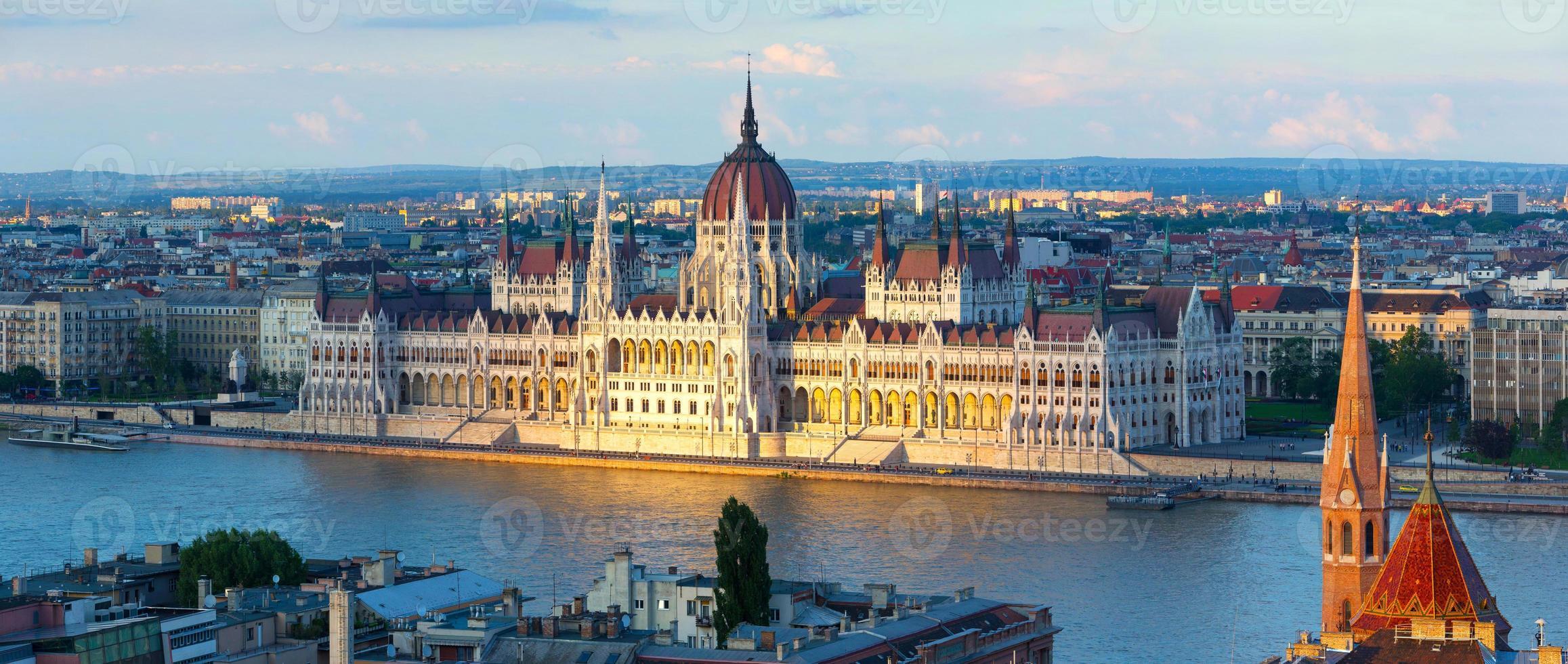 Parlamento de Budapest foto