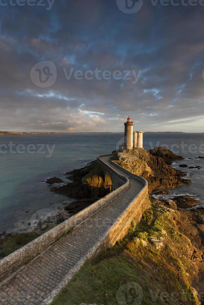 Leuchtturm Petit Minou in Frankreich photo