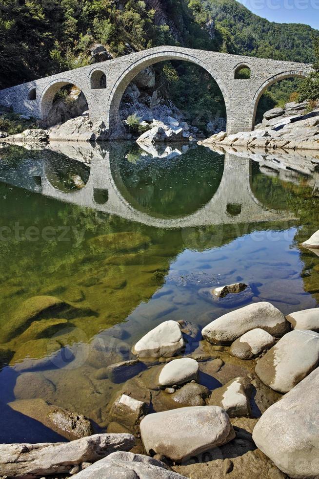 Amazing view of Devil's Bridge, Bulgaria photo