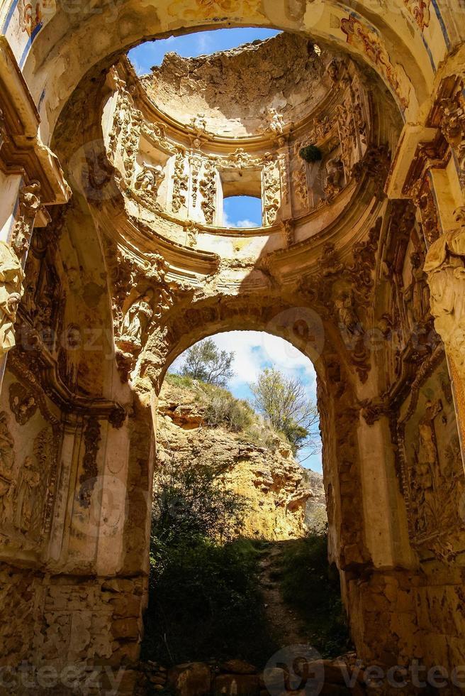 Ruins of the Convento de Monjes Servitas, Teruel, Aragon, Spain photo
