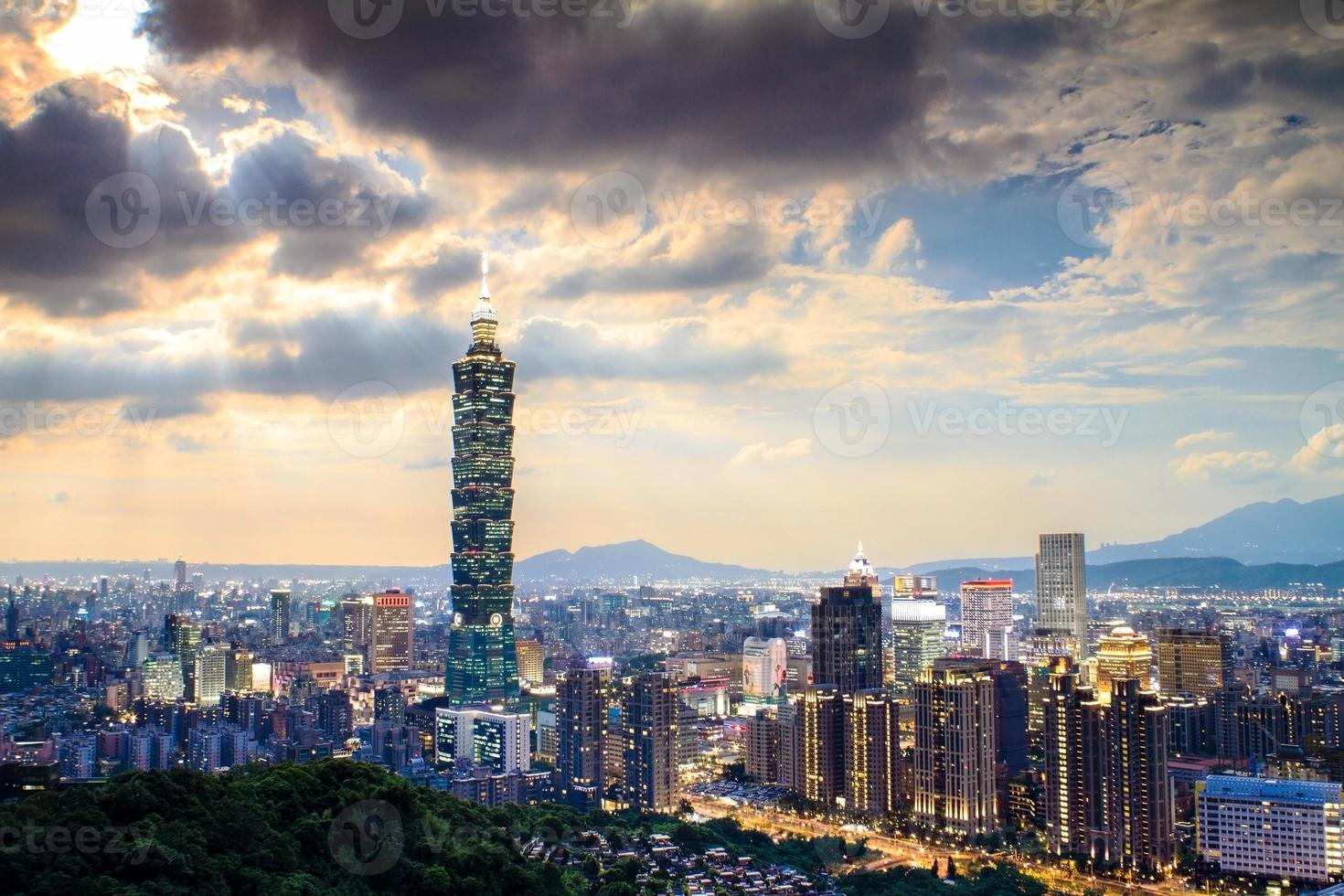 Elephant mountain to see Taipei photo
