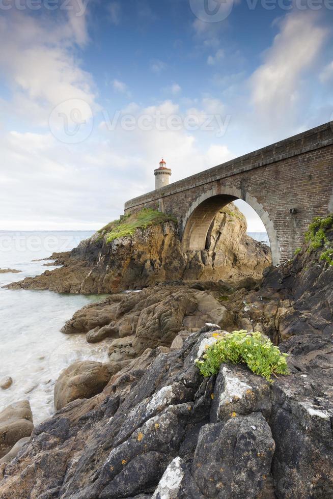 Petit Minou Leuchtturm in der Bretagne photo