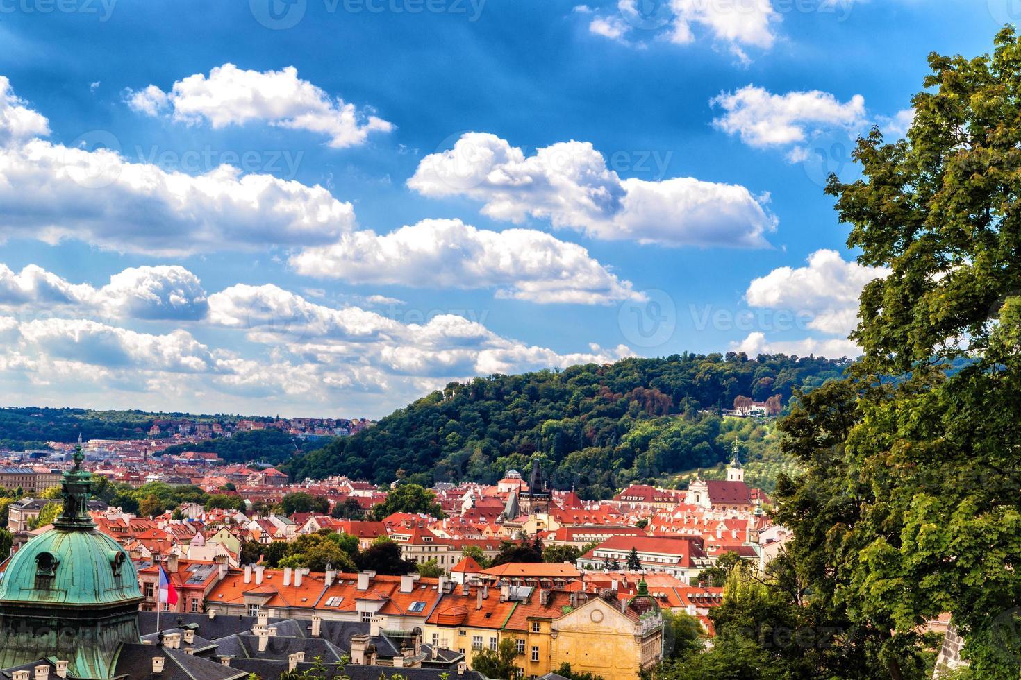 Prague: buildings and architecture details photo