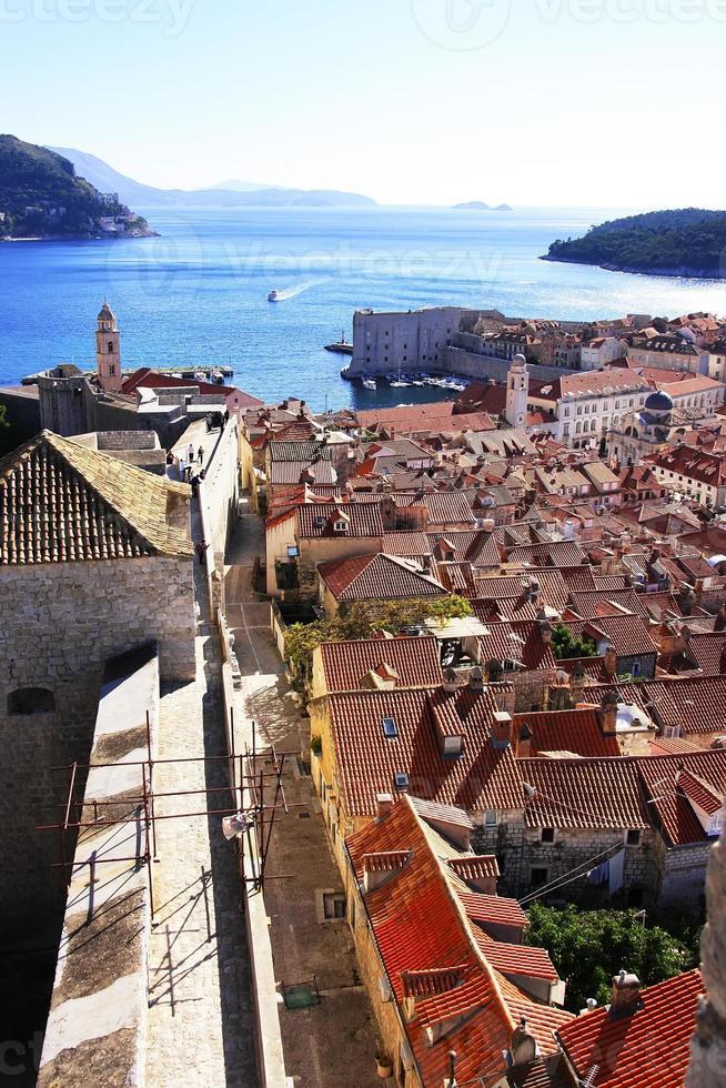 Casco antiguo de Dubrovnik, Croacia foto