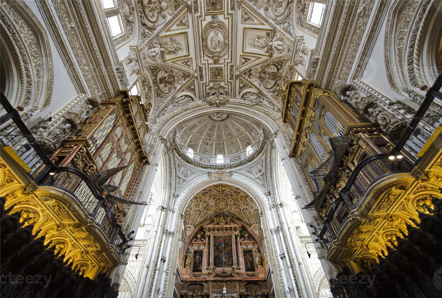 Interior view of La Mezquita Cath photo