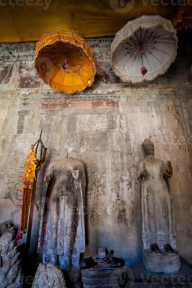 Angkor Wat temples in Cambodia photo