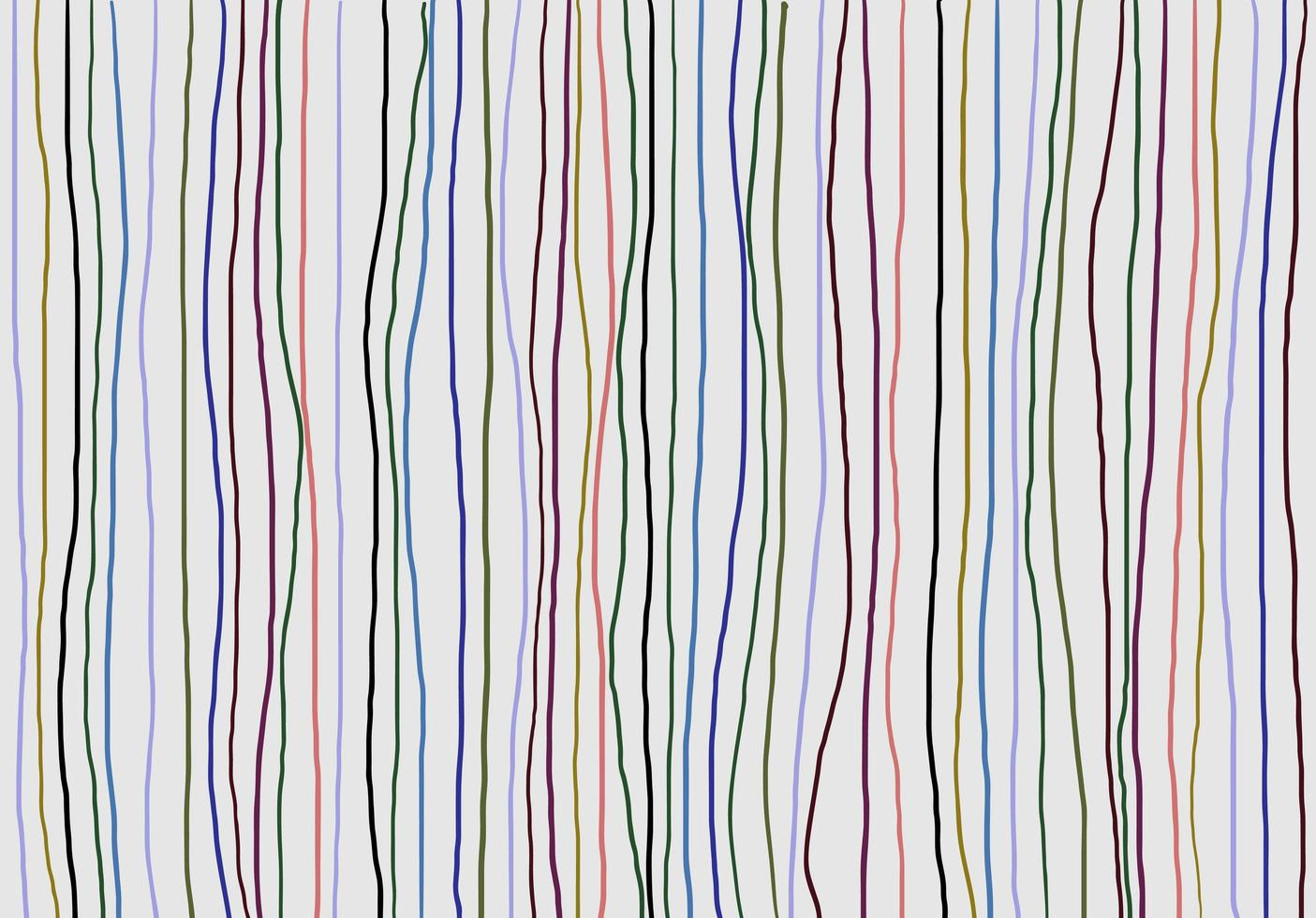 Abstract patterned doodle background vector