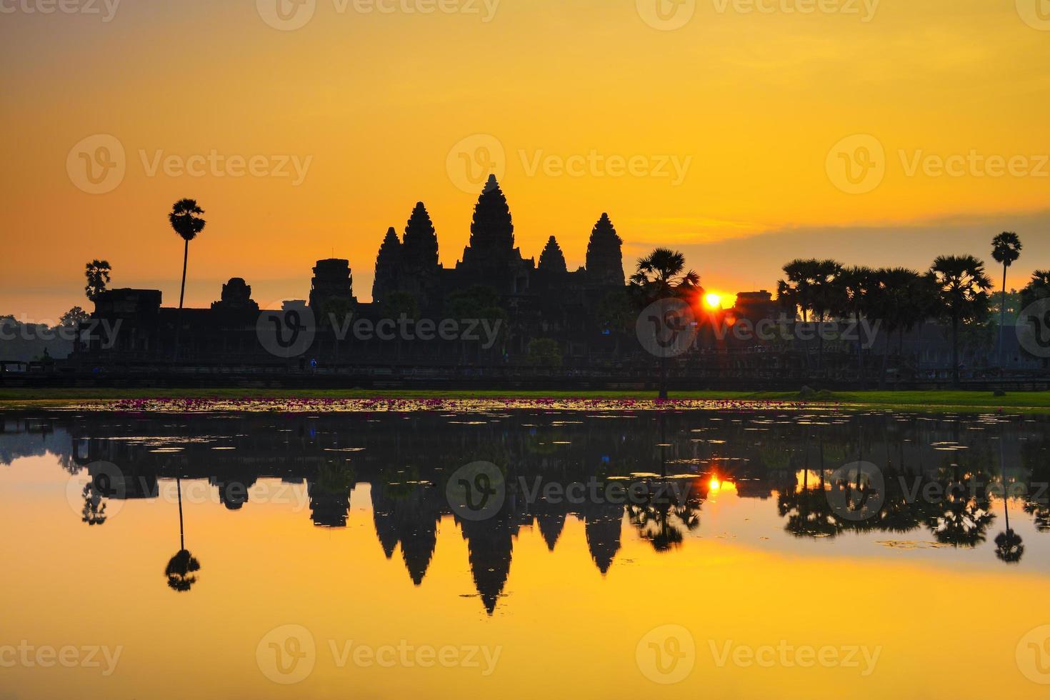 Ankor Wat, foto tomada al amanecer