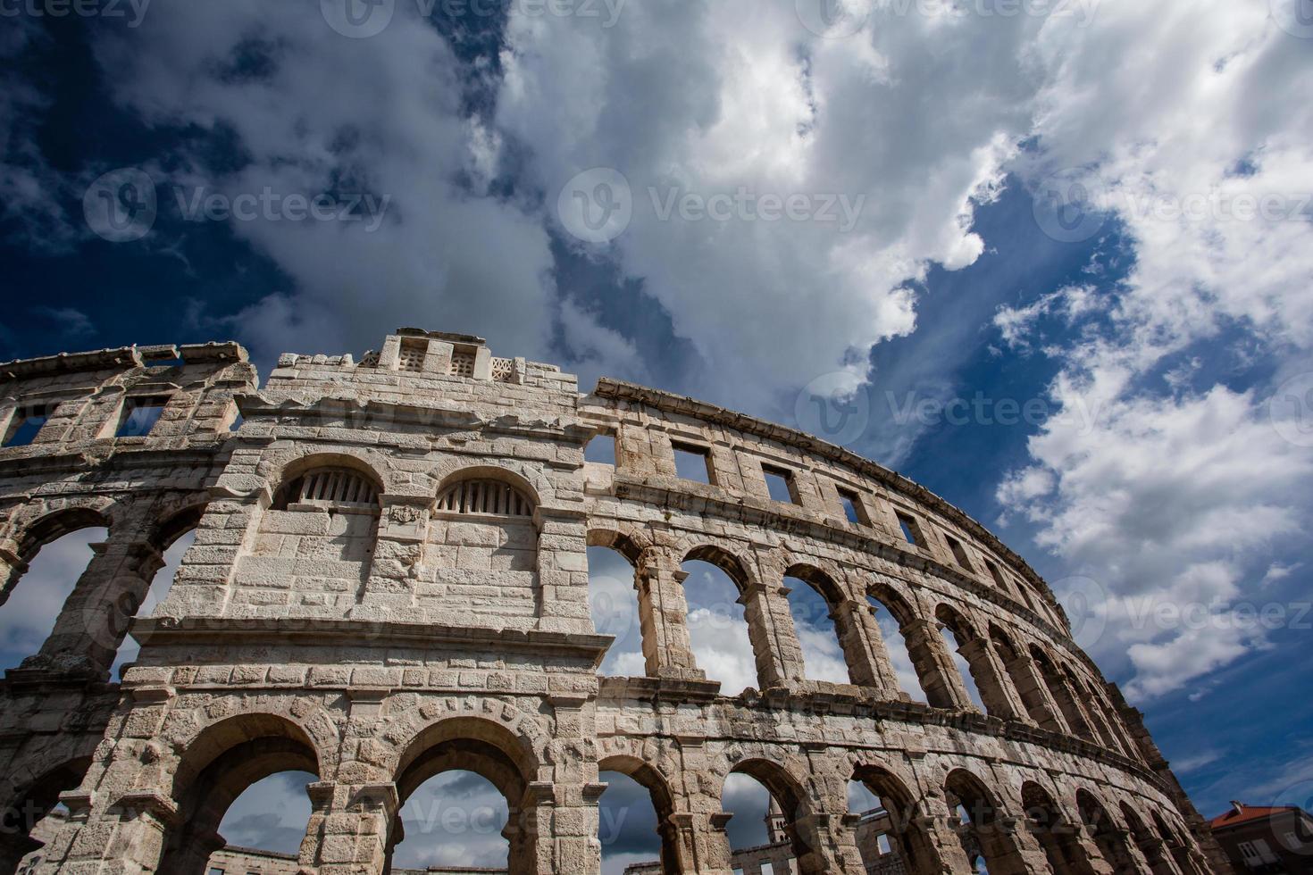 Colosseum in Pula, Croatia photo