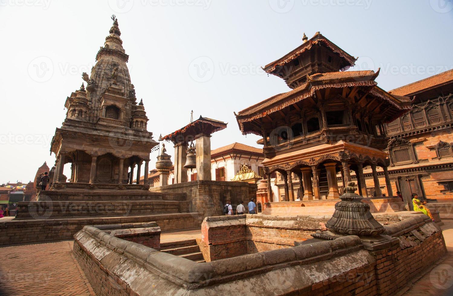 Durbar Square in Bhaktapur, Nepal photo