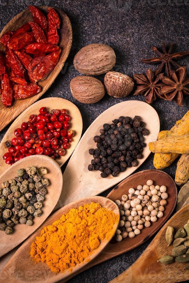 especias, ingredientes foto