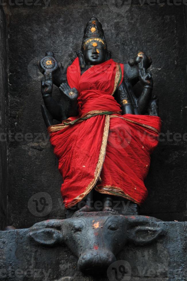 Black Ardhanarishwara ( Shiva ) photo