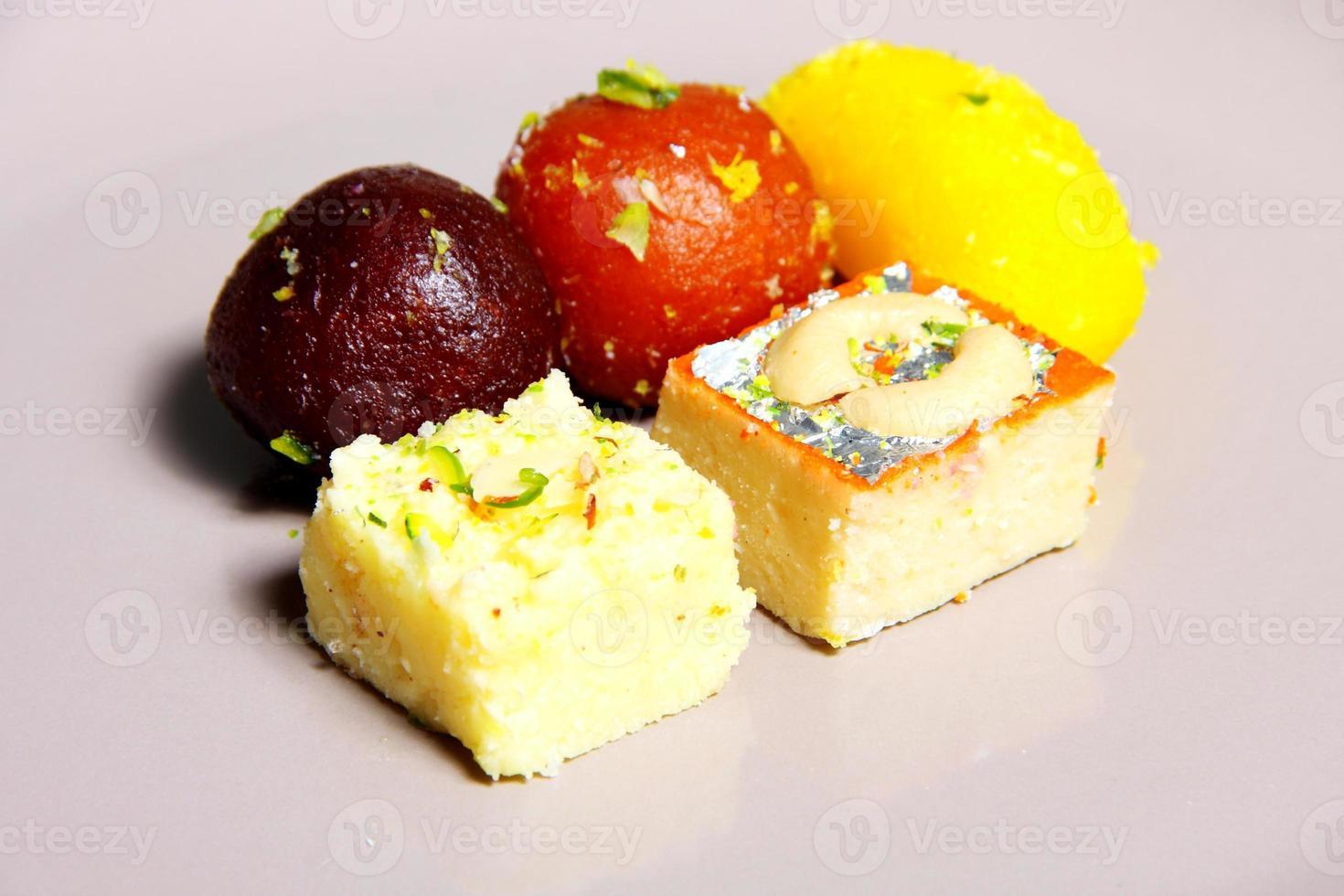 Indian Dessert Stock Photo